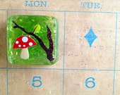 Woodland Red Toadstool Magnet