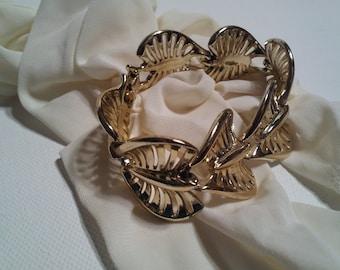 Vintage Coro Gold Tone Bracelet