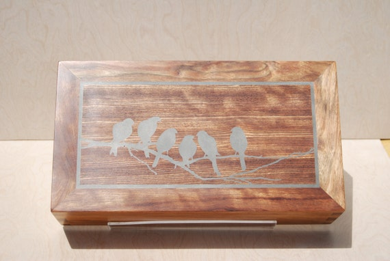 Hand crafted Wooden Box, Heirloom box made of solid Caribbean Rose wood, Great gift for Everyone