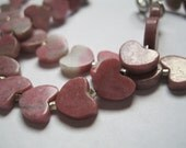 Heart Jewelry, Heart Necklaces, Pink Jewelry, Girl's Necklaces, Girl's Jewelry, Love Jewelry, Pink Necklaces