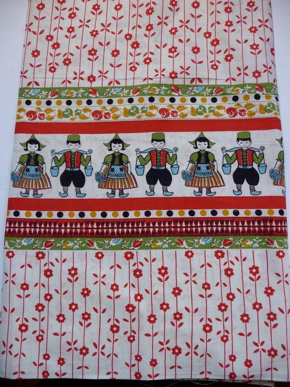 Vintage cotton fabric - Dutch 70's