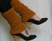 Women's Golden Yellow Legwarmers