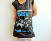 QUEEN Freddie Mercury Deep Cut 3 British Hard Rock Tank Top T Shirt Size M