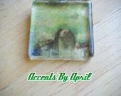 Green Marble Glass Pendant