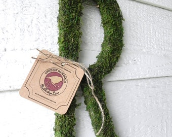Moss Letters - Rustic Wedding (12'') Moss Monogram - Wedding Decoration Home Decor