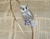 Steampunk Owl (52302) Headband Vintage Style Original Design
