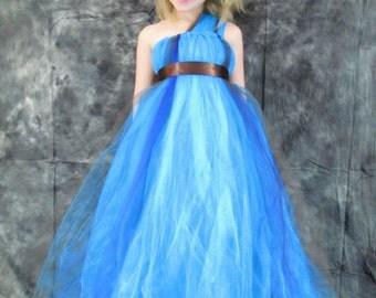 Girls Tulle Dress, flower girl dress
