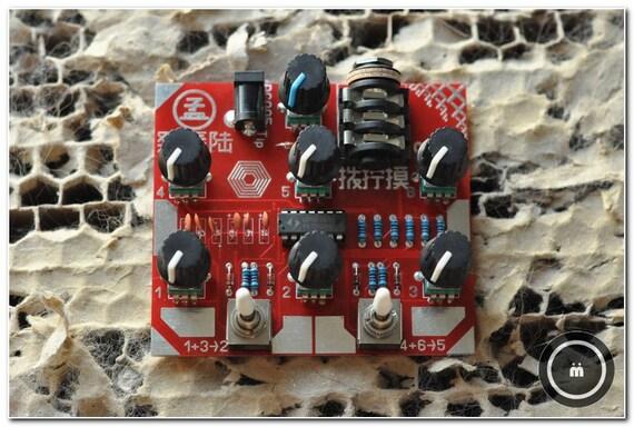 "osc6 / 6 oscs with internal modulation routing / ""FaZhenLiu"" / ZLH-01 / Synth"