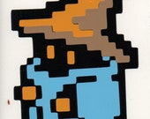 "Black mage 4"" Original Colorway"