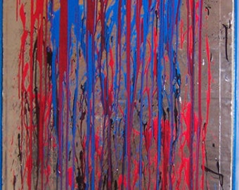 """Abstract Painting - """"Silver Menagerie"""""""