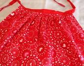 Apron-Circle of Hearts skirt apron