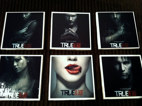 True Blood Coasters