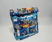 Batman Lunch Sack - Batman Comics Superhero Lunch Bag