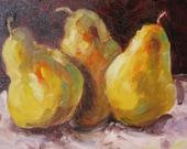 Impressionistic Pears
