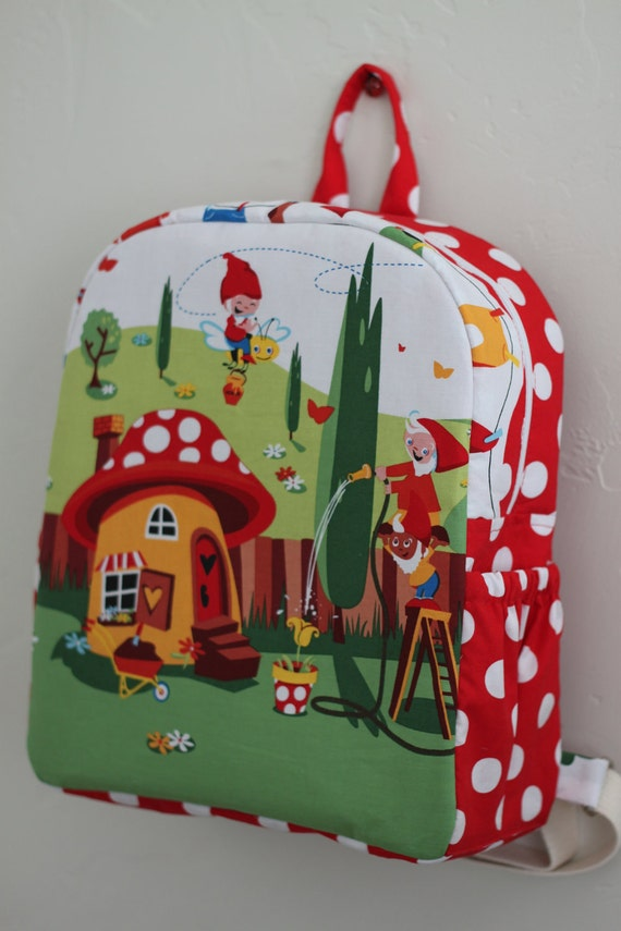 Toddler BackPack Gnomeville     (Medium)