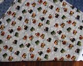 Choo Choo Train Themed Baby Blanket