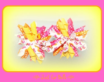 Flight of the Butterfly Korker Dog Bows