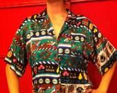 Vintage Gambler shirt / size Medium