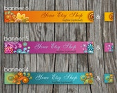 Etsy Shop Banners - Banner and Avatar -  Made to Order