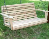 4 Foot Classic Cypress Porch Swing