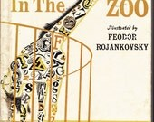 Rare vintage kids book Feodor Rojankovski Animals in the Zoo gorgeous illustrations ABC alphabet book