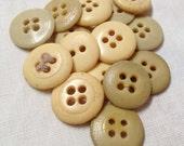 Vintage Butterscotch Button Collection