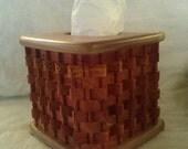 Basket Tissue Box Holder