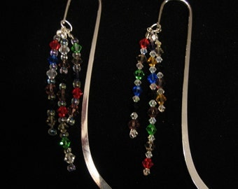Crystal beaded bookmarks