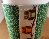 FREE SHIPPING - Loving this new owl Cup Cozy
