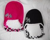 Baby Racing hat photography prop newborn hat 0-3 month 3-6 month hat spring hat summer hat