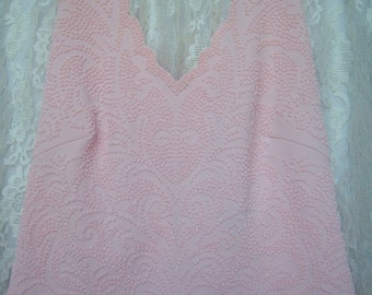 SALE!  Romantic Pink Halter Top Vintage