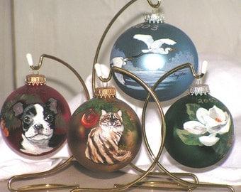 Hand Painted Christmas Bulbs