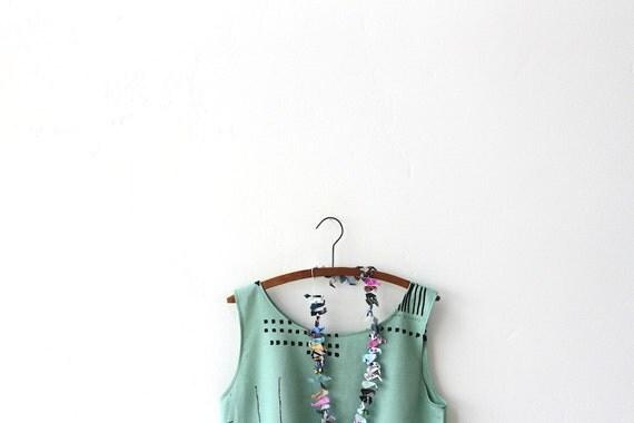 abstract baby doll dress, yoshiko jinzenji