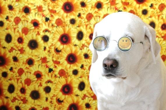 90s smiley face hologram sunglasses, deadstock