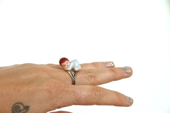 sophisticated baby ring