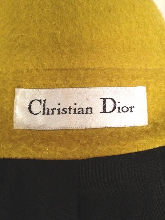 Christian Dior Lemon-Lime Vintage Jacket