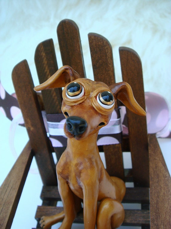 Greyhound on a Picnic