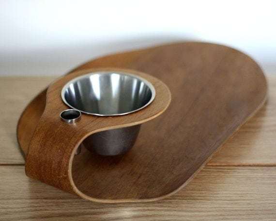 Swedish Teak Serving Tray, Plate