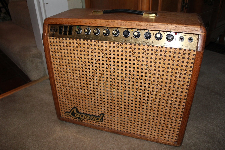 Guitar Amp Legend Tube Amplifier Rare