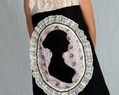 Women Victorian silhouette dress - all sizes