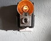 Vintage Camera Nightlight - Kodak Brownie Starflash (Black)