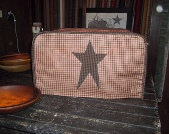 Toaster Oven Cover (you choose fabric colors)