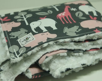 the chic blanket - zoology bloom - free US shipping!