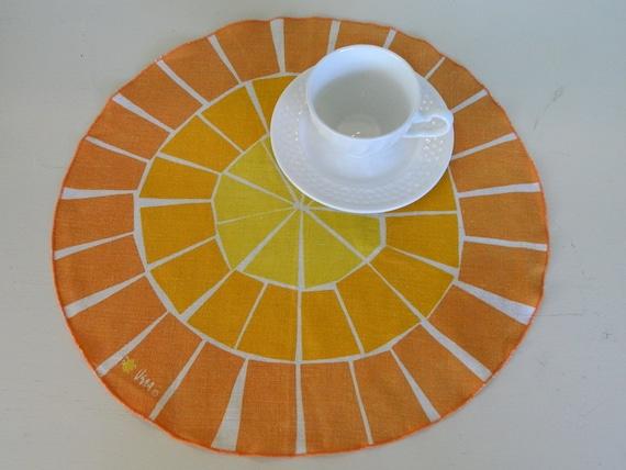 Vera Vintage Citrus Placemats