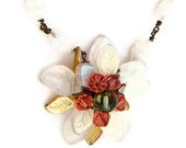 RESERVED FOR SHELLEIGH   flower necklace