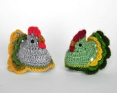 pair of adorable Easter chickens