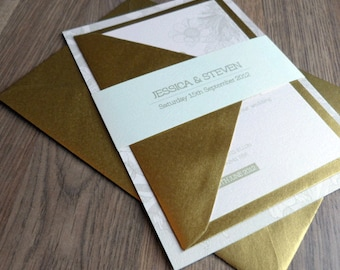 Wedding Invitation Suite - Bloom Wedding Range