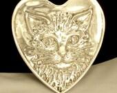 Cat Jewellery - Womens Belt Buckles - Vintage Buckle - Belt Buckle - Silver Belt Buckle - Silver Cat Jewelry - Sterling Silver Buckle