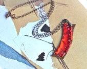 Slice of Sunshine Pendant with Chain