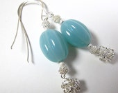Frost Handcrafted earrings - free shipping